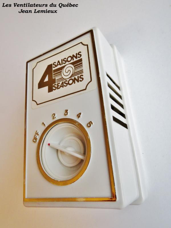4 Saisons 5-speed Wall Control
