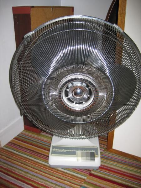 Windmere 7 Oscillating Fan : Oscillating floor fan