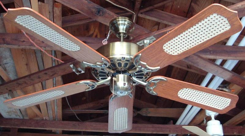 Caribbean electric five blade model c 528srl vintage ceiling fans fan by murray feiss foot print vent caribbean electric aloadofball Choice Image