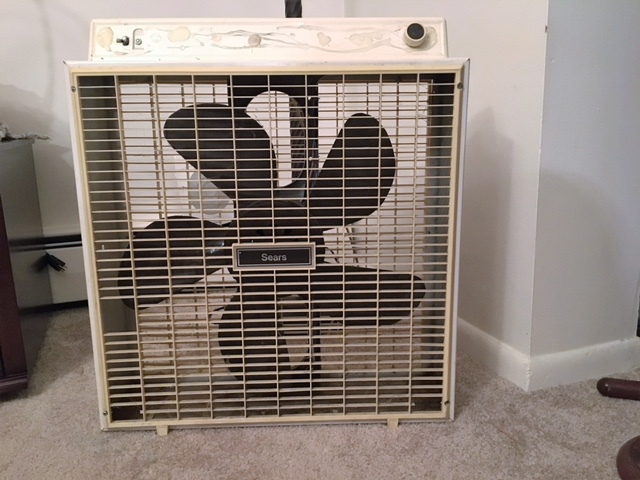 Sears box fan by MattS in Sears