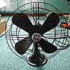 "General Electric ""Standard"" Oscillating Fan (16"")"