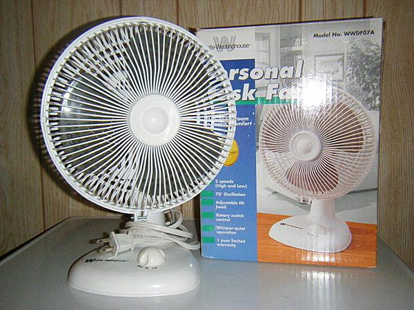 Personal Desk Fan : White westinghouse personal desk fan vcf member galleries